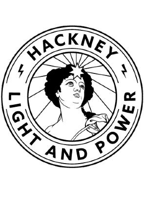Hackney Light and Power logo